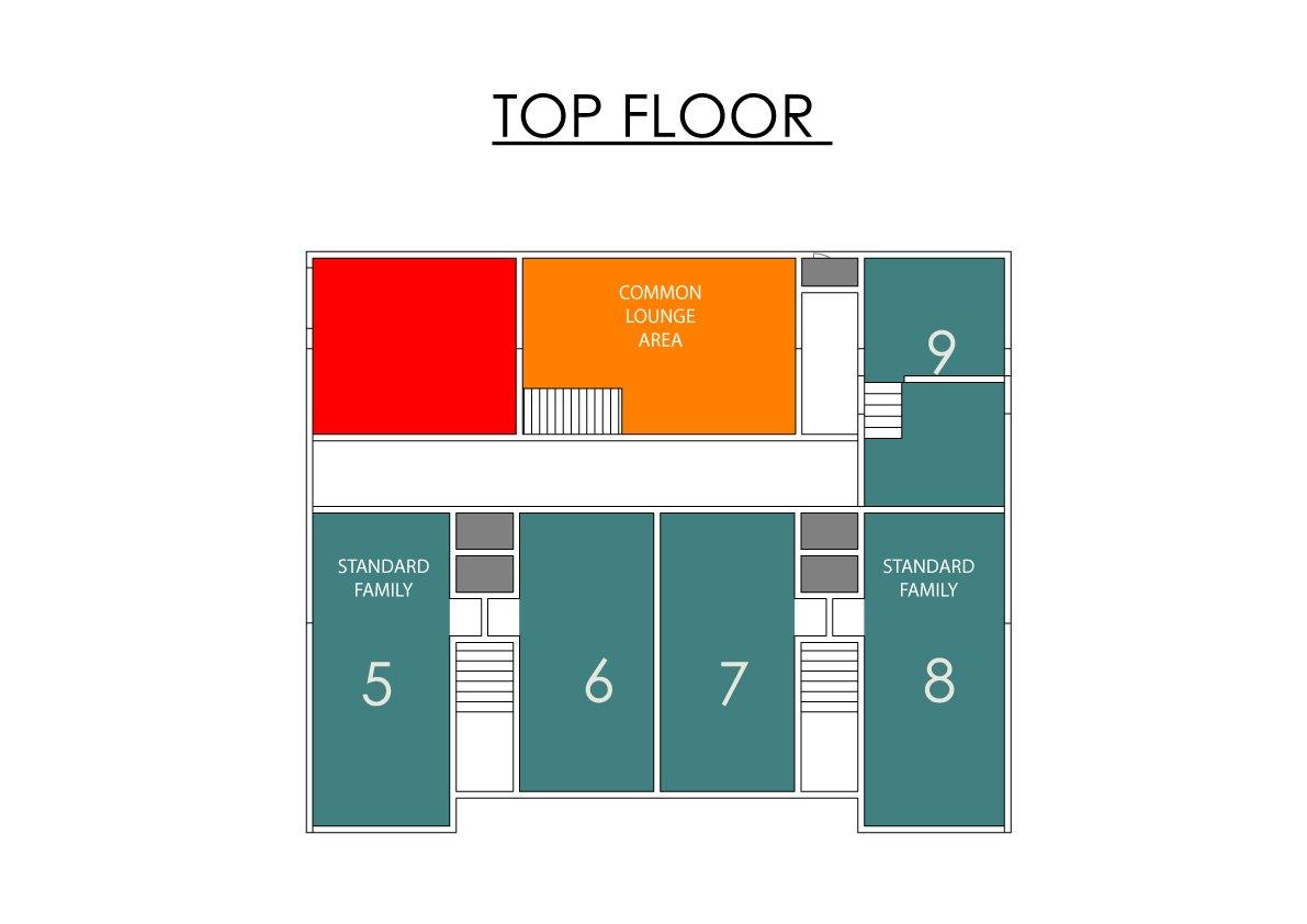 Madarao Family Accommodation - Yamadasan Standard Family Room - Sleeps 5